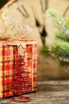 Free Christmas Decoration And Gift Royalty Free Stock Image - 25860836