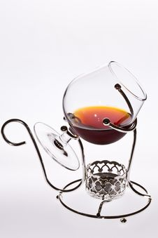 Free A Glass Of Cognac Stock Image - 25863111