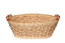 Free Empty Wooden Basket Stock Image - 25863411