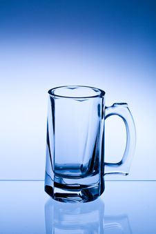 Free Empty Beer Glass Stock Images - 25863774