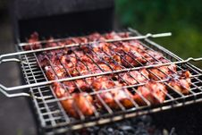 Free Barbecue Grill Royalty Free Stock Photography - 25865457