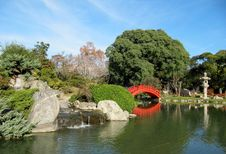 Free Autumn In A Japanese Garden Royalty Free Stock Image - 25866246