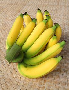 Free Bunch Of Bananas. Stock Photo - 25869960