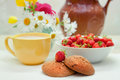 Free Still Life With Strawberries Stock Image - 25871561