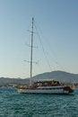 Free Anchored Yacht Stock Photo - 25874990