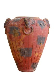 Free Traditional Ancient Vase. Royalty Free Stock Image - 25870146