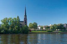 Free Frankfurt Epiphany Church Royalty Free Stock Photo - 25872305