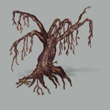 Free Big Dead Tree Stock Photo - 25873190