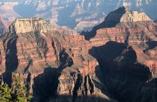 Grand Canyon Northern View Royalty Free Stock Image