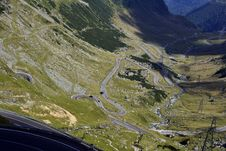 Free Twists And Turns On The Transfagarasan Stock Images - 25874804
