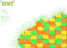 Free Background  Of The Rectangles Stock Images - 25878074