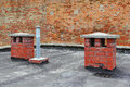 Free Roof Chimneys Stock Images - 25881874