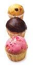 Free Cupcakes Closeup Stock Image - 25885071