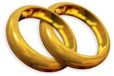 Free Wedding Rings Royalty Free Stock Photos - 25882588