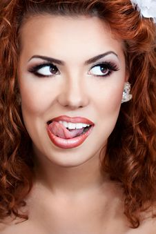 Free Red Hair Beauty Stock Images - 25882624