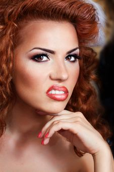 Free Red Hair Beauty Stock Image - 25882641