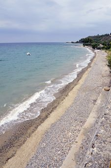 Sithonia Beach Royalty Free Stock Images