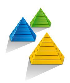 Free 3d Pyramid Stock Photos - 25886313