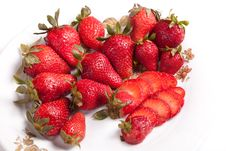 Free Strawberries Royalty Free Stock Photo - 25887885