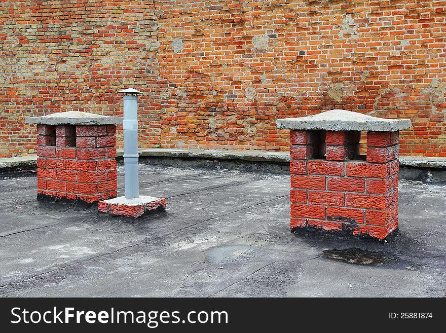 Roof chimneys