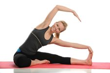 Free Young Woman Working Out Royalty Free Stock Images - 25890849