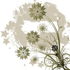 Free Abstract Flowers Background Royalty Free Stock Image - 25892476