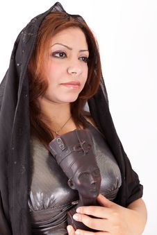Free Egyptian Woman Royalty Free Stock Image - 25893226