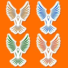 Free Symbols Of A Bird Stock Photos - 25894613