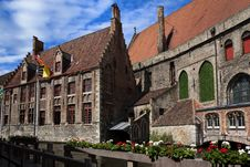 Historic Brugge Stock Photography