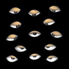 Free Eyes In The Dark Stock Photo - 25896540