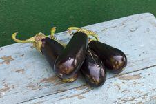 Free Fresh Aubergines &x28;eggplants&x29; Stock Images - 25898614