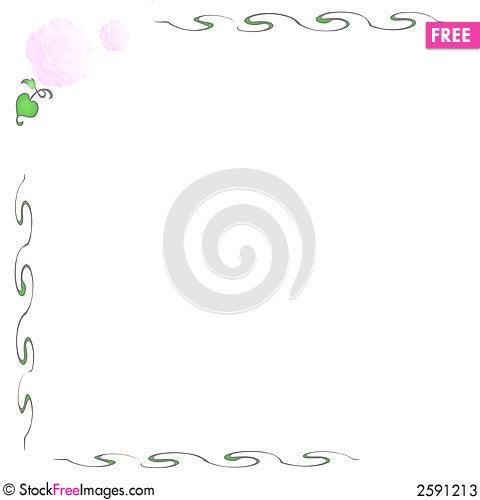 Free Pink Rose Note Stock Photos - 2591213