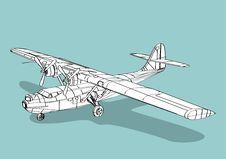 Free Catalina Seaplane Royalty Free Stock Photo - 2590005