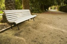 Free Bench In The Park Royalty Free Stock Photography - 2591617