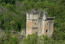 Free Mediaval Castle In Forest Stock Photo - 2592040