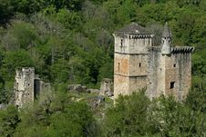 Free Mediaval Castle In Forest Royalty Free Stock Image - 2592086