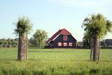 Free Little Farm-house Stock Photography - 2592112
