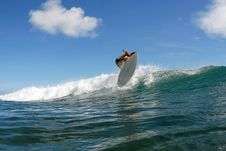 Free Surf Chop Hop Air Stock Photography - 2592152