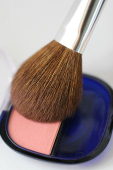Free Cosmetics - Blush Royalty Free Stock Images - 2592559