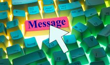 Free Keyboard-Message Stock Images - 2592964