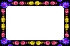 Free Floral Frame Stock Photo - 2593000