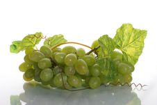 Free Grape Cluster With Leave Stock Images - 2593204