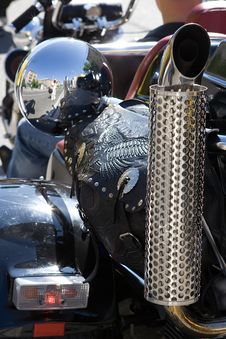 Free Part Of Motorcycle Royalty Free Stock Image - 2593346