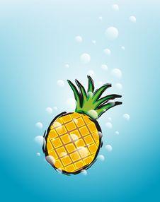 Free Pineapple Water Stock Image - 2593681
