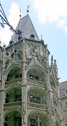 City Hall Munich 4 Stock Image