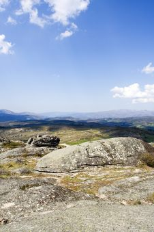 Free Landscape In Moutains Top Royalty Free Stock Photo - 2595345
