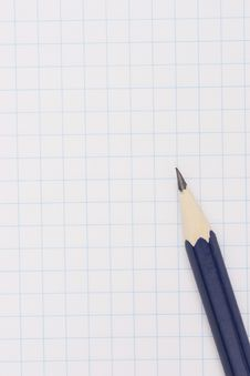 Free Pencil On Notebook Stock Photos - 2595423