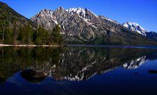 Jenny Lake 2 Royalty Free Stock Photos