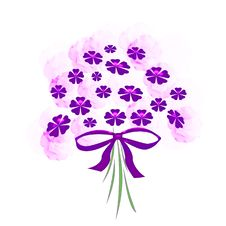 Free Purple Bouquet Stock Images - 2596684