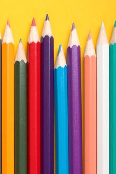 Free Colored Pencils Royalty Free Stock Photography - 2596757